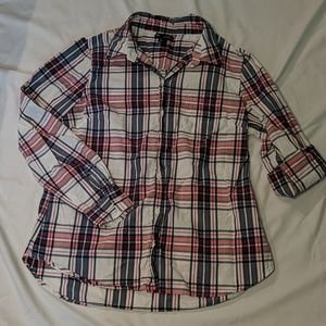 Gap Boyfriend Button Down Top